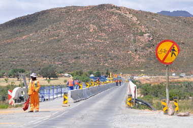 The Breede River Bridge will be closed between 24 and 26 June 2016.
