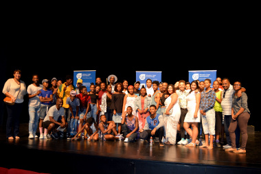 The Cast of the Best of DCAS showcase with Liezl Jansen and Moeniel Jacobs from DCAS