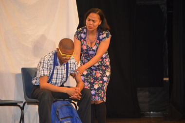The Cay-Cay drama group thrilled the audience with their performance