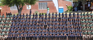 The Chrysalis Academy female-intake for the September-November 2017 enrolment graduated on 25 November 2017 at the academy in Tokai.