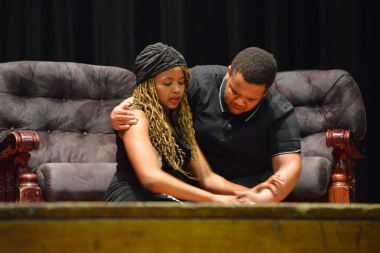 The Combined Theatre Group, finalists of the Cape Winelands Drama Showcase  (1)