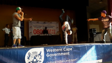 The competition gives learners the opportunity to showcase their dancing and musical talents.