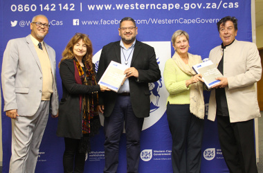 The completed Case for Sport study was handed over to Minister Anroux Marais on Friday