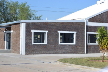 The completed COVID-19 ward at Vredendal Hospital.