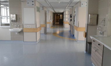 The completed Paediatric Intensive Care Unit.