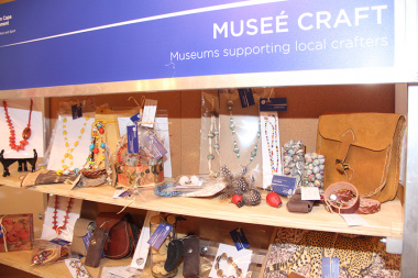 The Craft Museé stands is usually placed at the tourism information centre in Genadendal, and generates over R1000 in sales every month