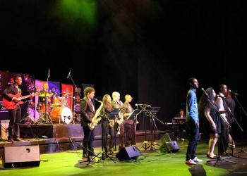 The CTJIF All Star Band who will be performing the the Free Concert at the Greenmarket Square on Wednesday 25 March