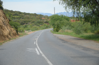 The current condition of the Cogmanskloof road.