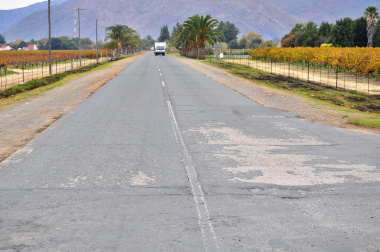 The current condition of the R43 between Worcester and Rawsonville.
