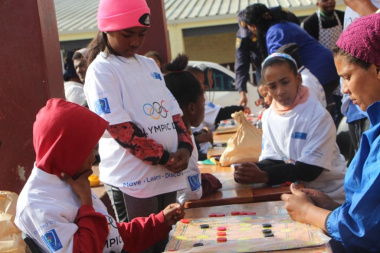 The day was jam-packed with fun activities for children