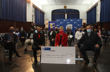 The Department of Cultural Affairs and Sport allocated just over R600 000 in funding to Overberg sports organisations on Wednesday.