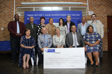 The Department of Cultural Affairs and Sport allocated R1.9 million to museums in the Overberg on Tuesday