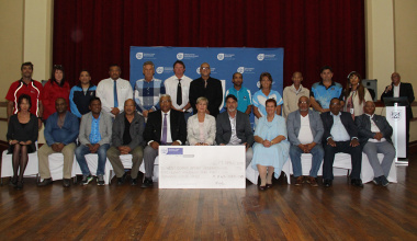 The Department of Cultural Affairs and Sport allocated R845 000 to West Coast Sports Federations on 17 April 2019