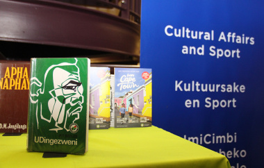 The Department of Cultural Affairs and Sport's Library Service and Language Services units celebrated Heritage Month on Friday by focussing on indigenous lang