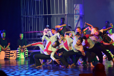 The energetic dance performances were a highlight