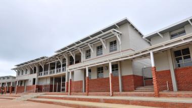 The entrance of the Kwanokuthula Primary School.