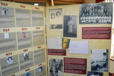 The exhibition showcases various aspects of Dulcie September's life