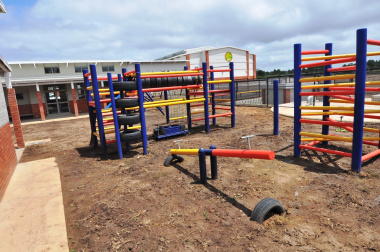 The Grade R playing area.