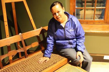 The humble journey of Juanita inspire the group to be innovative and appreciative. She took the initiative to renovate the facility's furniture with bare basics.