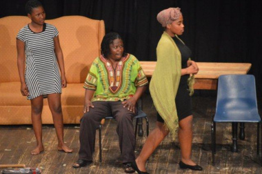 The Ligugu Arts drama group ensured that they captivated the audience with their talents