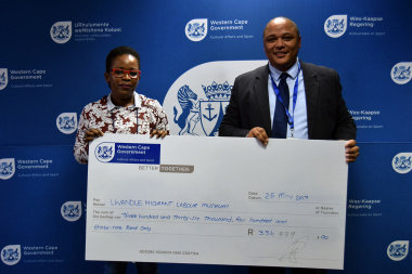 The Lwandle Migrant Labour Museum received R336 439 from DCAS
