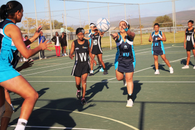 The netball games created excitement amongst players competing at the Festival.