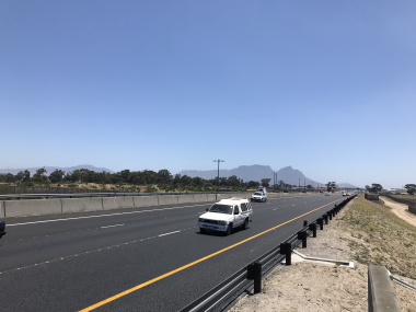The new lanes of the N2 are now open