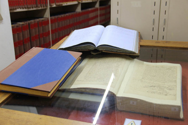The oldest document at the Western Cape Archives and Records Service is the 363-year old record of Jan van Riebeeck's journey to the Cape.