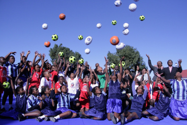 The opening of the facility brought joy to learners.