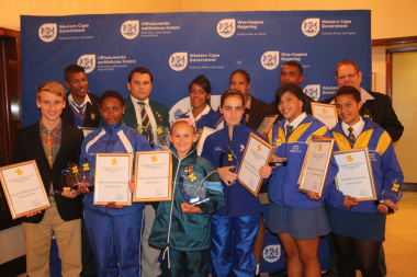 The Overberg Regional Awards 2014 winners