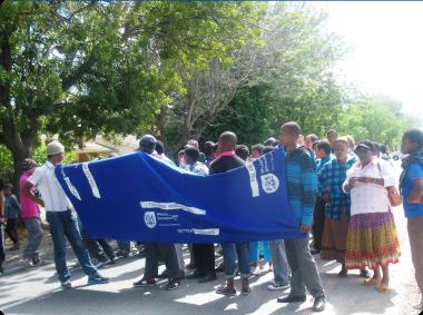 Walking Together Against Crime