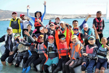 The participants of the Western Cape Sailing Championships in Langebaan