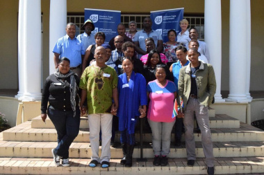 The participants who attended the Social Cohesion conversations in Franschhoek