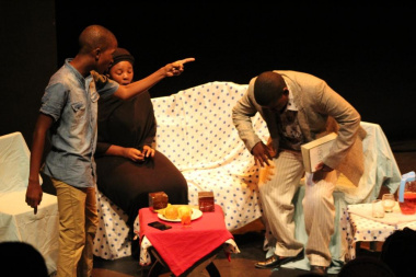 The performance of Turning Point by Curtain Call African Spear