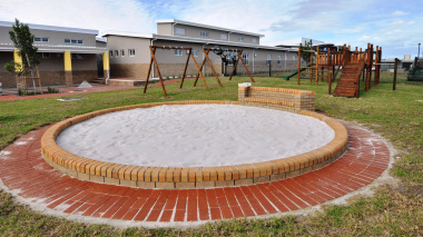 The play area for Grade R learners.