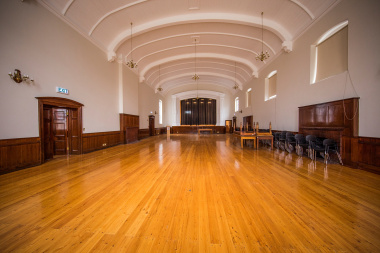 The refurbishment of the hall