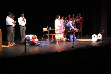 The scripts of the different performances focussed on current social issues
