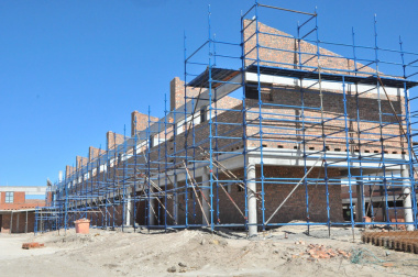 The senior phase building will be completed  by mid-2017.
