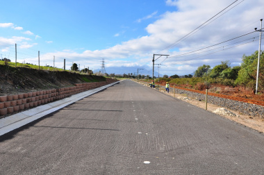 The service road between Vlaeberg and Vlottenberg will be proclaimed as a provincial road.