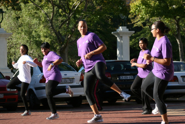 The sessions are motivating people to stay fit.