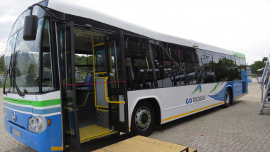 The state-of-the-art GO GEORGE bus.