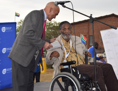 The stories of Wilfred Arendze and Maxwell Moss inspired the audience at the Heritage Day celebrations in the West Coast to take ownership of the future