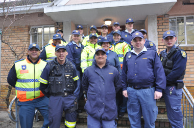 The traffic law enforcement and police officers who took part in the operation.