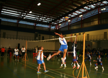 The u18 Western Cape Sport School boys' volleyball team won all of their games at the Heartfelt Arena.