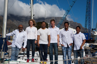 The WC delegation includes from left Saths Moodley, Nina Pienaar , Sieraj Jacobs , Paul Vivian, Daniel Agulus and Theo Yon