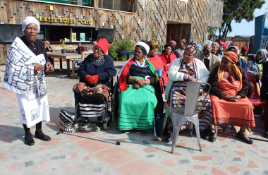 The Western Cape Department of Cultural Affairs and Sport hosted an intsomi session in Langa to celebrate Women's Month.