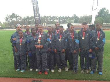The Western Cape hokker team won gold at the Games.