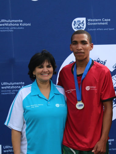 The winner of the cross-country race was Michael Davids from the Overberg