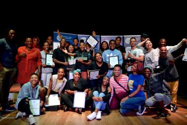 The winners of the Eden Drama Festival Finale celebrate