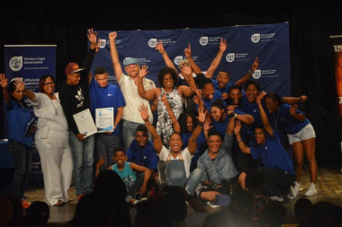 The winners of the Eden Drama Festival Finale in all their glory